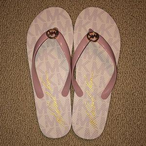 Michael Kors - Ballet Logo Flip Flops